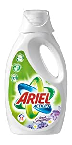 Ariel Flüssig Fresh Sensations Purple Haushaltsflasche - 18WL, 4er Pack (4 x 1,26 l)