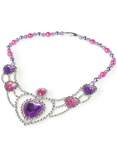 Girl's Princess Costume Accessory Faux Jewel Necklace