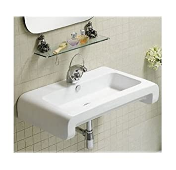 Whitehaus Collection WHKN1130 Isabella Collection Basin, White