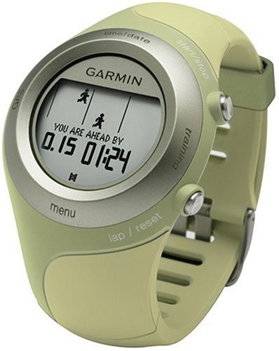 Garmin Forerunner 405 Water Resistant Running GPS With USB ANT Stick (Green) Running Gps