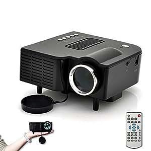 Mybdj hd 1080p led multimedia mini projector for Mini usb projector review