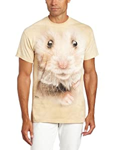 Hamster face Erwachsenen T-Shirt in Größe 2XL - The Mountain