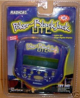 Radica Poker BlackJack Lite - Buy Radica Poker BlackJack Lite - Purchase Radica Poker BlackJack Lite (Radica Games, Toys & Games,Categories,Games)