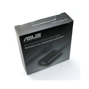 ORIGINAL OEM ASUS TRANSFORMER MINI HDMI to VGA CABLE VIDEO OUTPUT FOR TF101 TF101G SLIDER SL101