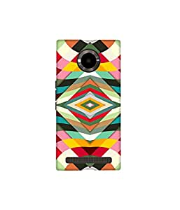 Kolor Edge Printed Back Cover for Micromax Yu YuPhoria - Multicolor (4396-Ke10145MmxYuphoriaSub)