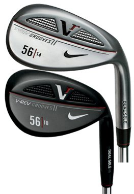 Nike Victory RED Cast V-Rev Wedge 58-6 Bounce Right Hand - Dynamic Gold Steel Stiff - Black Satin