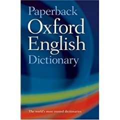 Image: Cover of The Oxford English Dictionary