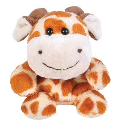 Giraffe Beanie Bean Filled Plush Stuffed Animal - 1