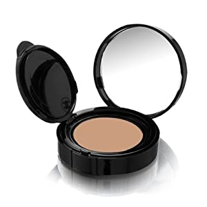 CHANEL Vitalumiere Aqua Fresh & Hydrating Cream Compact Makeup SPF 15 BEIGE ROSE 42 .