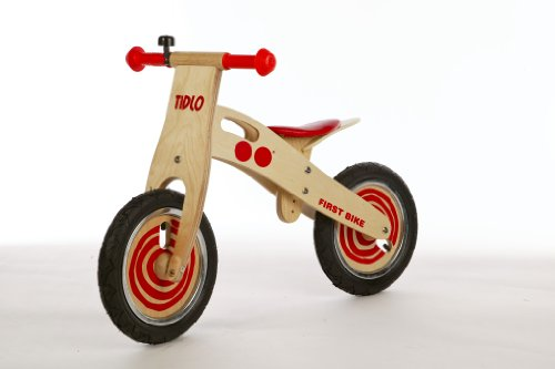 Tidlo First Balance Bike Red