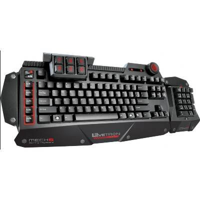 AZIO KB577U Levetron Mech5 Gaming Keyboard