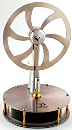 Low Temperature Stainless Steel Stirling Engine Model