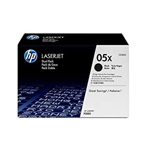 HP 05X - Toner cartridge - 1 x black - 6500 pages - HP TONER GENUINE 6.5K 1PK HICAP BLK P2055 SERIES