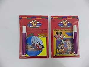 Mickey's Stuff For Kids Magic Pen Painting Book Set of 2 Mickey Mouse