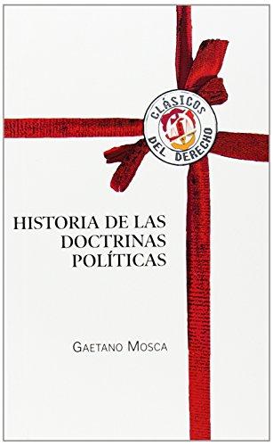 Historia de las doctrinas políticas (Clásicos del Derecho)