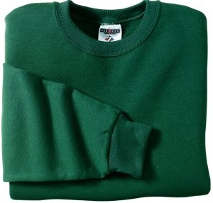 Big Mens Crewneck Sweatshirt by JERZEES® (Big & Tall and Regular Sizes)