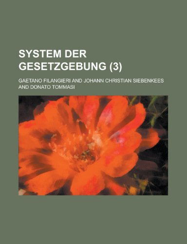 System Der Gesetzgebung (3)