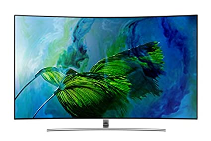 Samsung QA55Q8C 55 Inch Curved Ultra HD Smart QLED TV Image