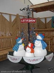 schneiende schneemannfamilie weihnachten 170 cm. Black Bedroom Furniture Sets. Home Design Ideas