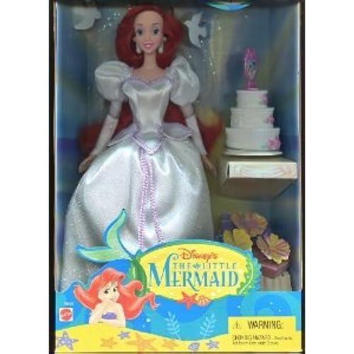 Disney (디즈니)The Little Mermaid (리틀 머메이드) (Ocean Bride Ariel) 돌 인형 피규어(병행수입)-
