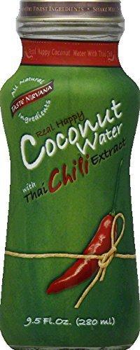 Taste Nirvana Coconut Water W/Thai Chili 9.5 Oz (Pack Of 12)