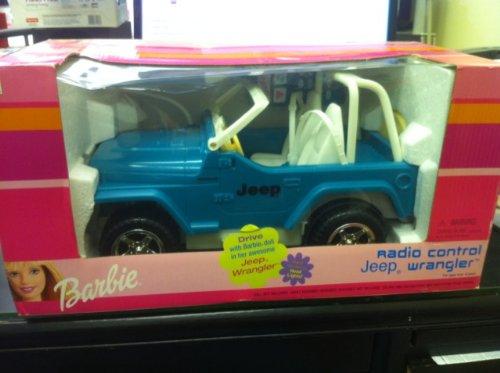 Mattel barbie remote control jeep