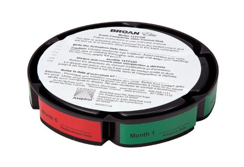 Broan-NuTone 15TCOD Odor Control Disc for Trash Compactor