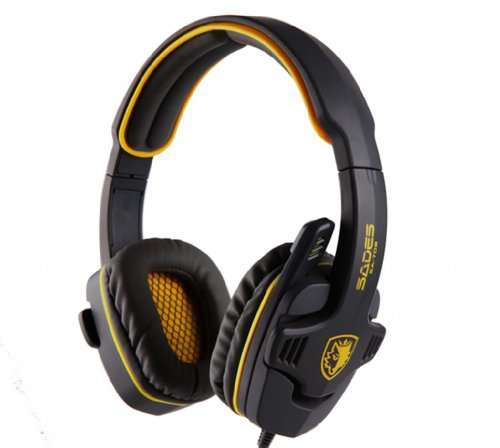 Blue Melody Best Elite Usb Wired Universal Top Stereo Pc Computer Mac Laptop Video Virtual Gaming Headset For Sa708 Yellow