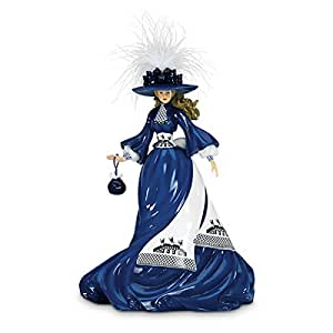 Amazon Com Blue Willow China Pattern Inspired Lady
