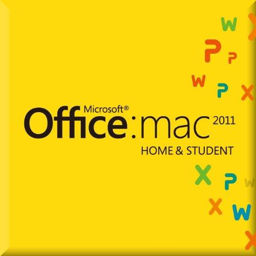 Microsoft Office for Mac Home and Student 2011 ファミリーパック [ダウンロード] (PC3台/1ライセンス)