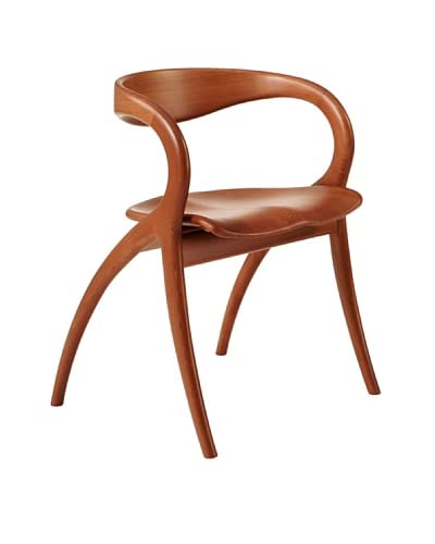 Domitalia Star Beechwood Chair, Light Cherry