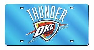 Oklahoma City Thunder License Plate Cover by Rico