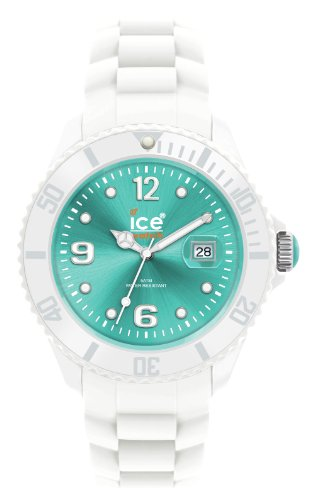 Ice-Watch Ice-White Turquoise Dial Unisex Silicone Watch SI.WT.U.S