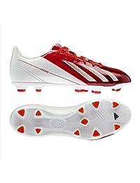 Adidas F10 TRX Fg -Messi (Running White/dark Orange/black Size 9.5