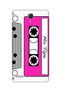 Defunk Retro Cassette Mobile Cover for Xiaomi Redmi Note 4 [Matte Finish,Hard case], Xiaomi Redmi Note 4 back cover