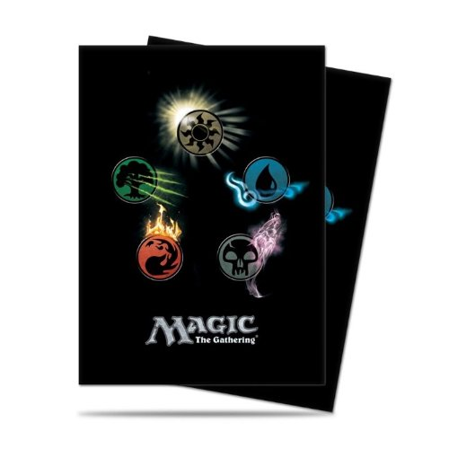 Ultra Pro Mtg Mana 4 Symbol Deck Protector Sleeves (80) by Ultra Products