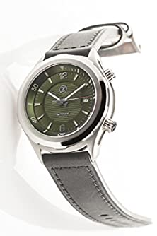 buy Zelos Watches Men'S Helmsman Green 42Mm