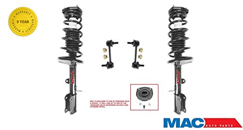 Mac Auto Parts 144407 Corolla Prizm (2) Rear Quick Spring Strut & Mount Shock Coil (2) Sway Bar Links (Coil Shock Toyota Corolla 2000 compare prices)