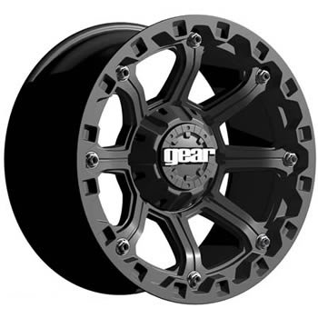41bl  %2BMK L Gear Alloy Black Jack 16x8 Black Wheel / Rim 8x6.5 with a 0mm