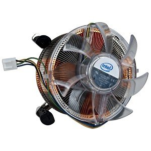 Intel Socket 1366 Copper Core/Aluminum Heat Sink & 4