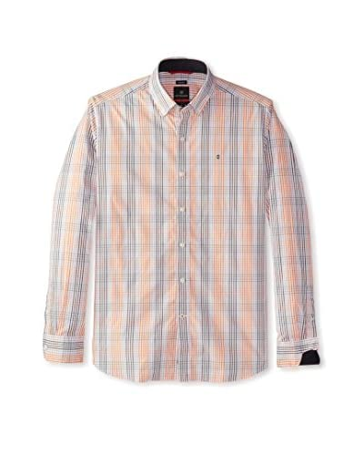 Victorinox Men's Long Sleeve Sellen Plaid Shirt