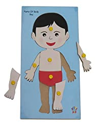 Skillofun Parts Of Body Tray (Boy)