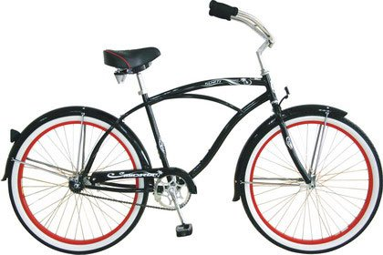Rover Nx3 Mens Grey Beach Cruiser