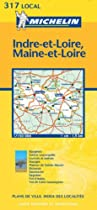 Indre-et-Loire/Maine-et-Loire (Michelin Local Maps)