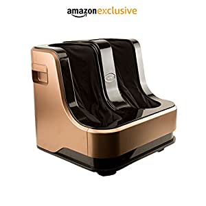 Lifelong LLM99 Foot, Calf and Leg Massager, 80W, 4 Motors, Dark Brown