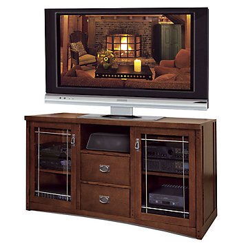 "Mission Pasadena Tall Tv Stand - 31""H"