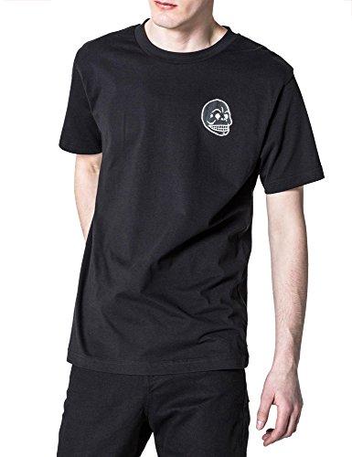 Cheap Monday Men's Fantastic Men's Black T-Shirt In Size M Black