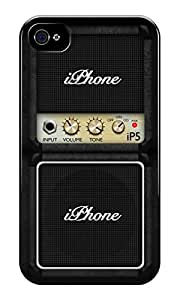 The Fappy Store Guitar Amplifier plastic Back Cover For iphone 4 & 4s