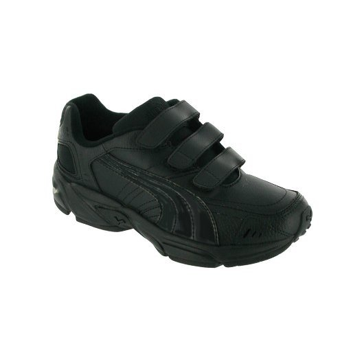 Clearance Puma Axis Junior Velcro Non-Marking Trainer / Unisex Kids Trainers
