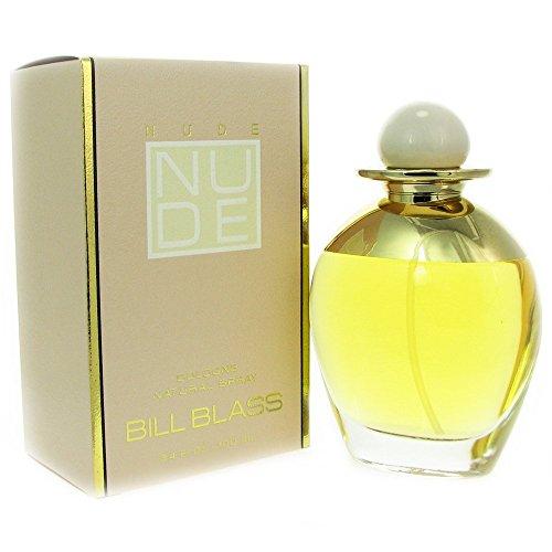 Bill Blass Nude Cologne Spray for Women, 3.4 Ounce